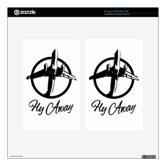 Fly Away Decals For Kindle Fire