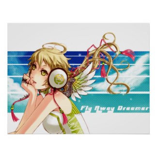 Fly Away Dreamer Poster Print