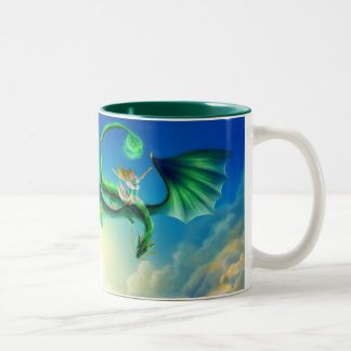 Fly Away Drink Two-Tone Coffee Mug