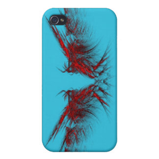 Fly Away Fractal iPhone Case