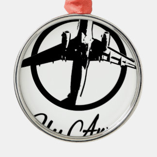 Fly Away Metal Ornament