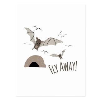 Fly Away Postcard