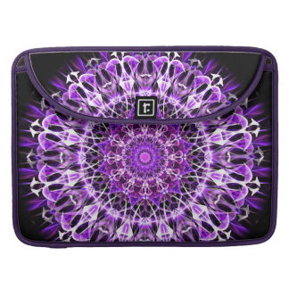Fly Away Purple Kaleidoscope Sleeve For MacBook Pro