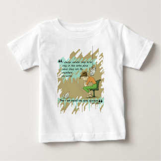 Fly Away Quote Baby T-Shirt