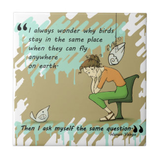 Fly Away Quote Tile