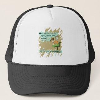 Fly Away Quote Trucker Hat