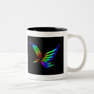 Fly Away Two-Tone Coffee Mug