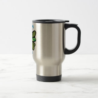 Fly away with me 15 oz stainless steel travel mug