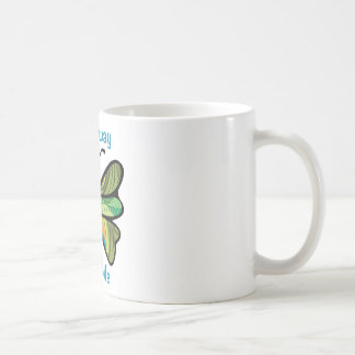 Fly away with me classic white coffee mug