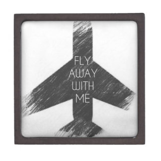 Fly away with me jewelry box