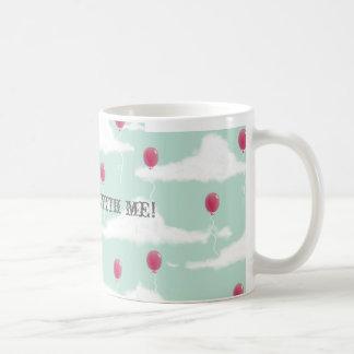 Fly away with me! mugs
