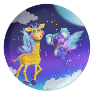 Fly Away With Me Plate