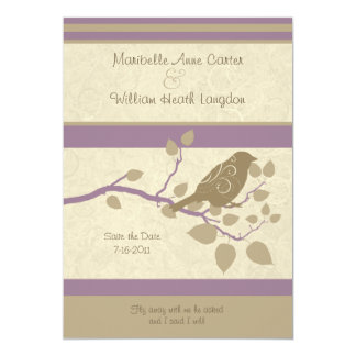 Fly Away With Me Wedding Invitation