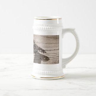 fly back beer stein