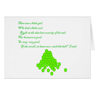 Fly Ball Poem Cards