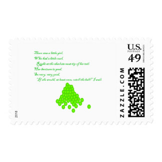 Fly Ball Poem Postage Stamps