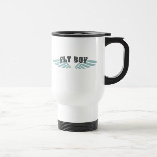 Fly Boy 15 Oz Stainless Steel Travel Mug