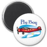 Fly Boy Fridge Magnets