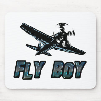 Fly Boy Mouse Pad