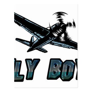 Fly Boy Postcard