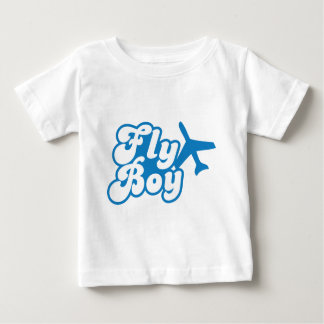 FLY BOY with aeroplane jet Baby T-Shirt