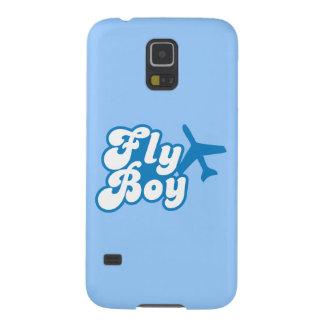 FLY BOY with aeroplane jet Galaxy S5 Case