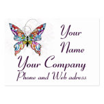 Fly Butterfly with 2013 Calendar  Business Card