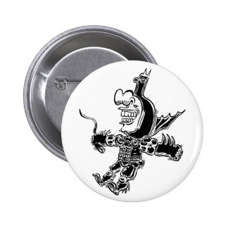 fly by 2 inch round button