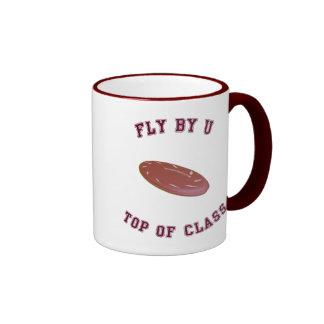 Fly By U Frisbee Ringer Mug