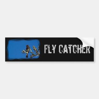 Fly Catcher Bumper Sticker