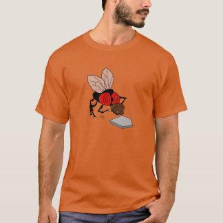 Fly Catcher Cartoon Design T-Shirt