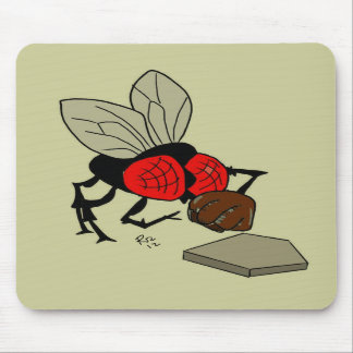 Fly Catcher Mouse Pad