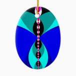 Fly Ceramic Ornament