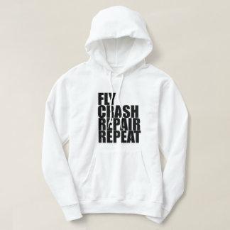 Fly, Crash, Repair, Repeat Sweatshirt
