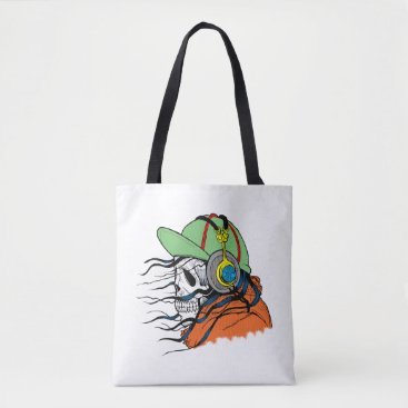 Halloween Themed Fly Death Tote Bag