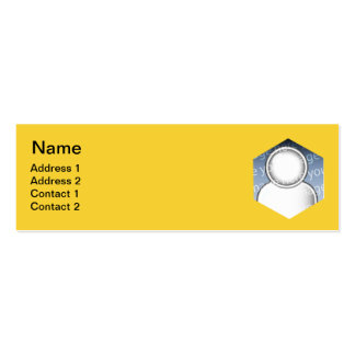 Fly Double-Sided Mini Business Cards (Pack Of 20)
