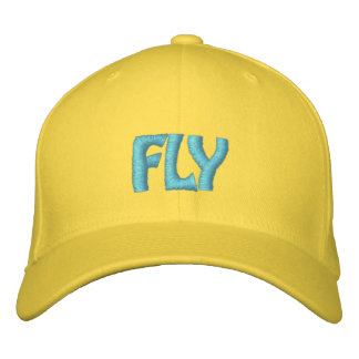 FLY EMBROIDERED BASEBALL HAT