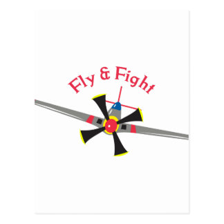 Fly & Fight Postcard
