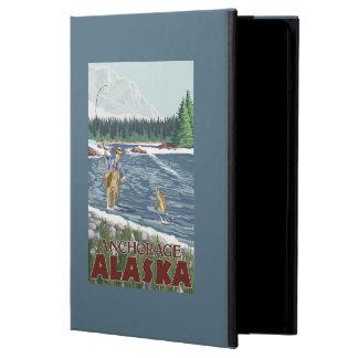 Fly Fisherman - Anchorage, Alaska Case For iPad Air