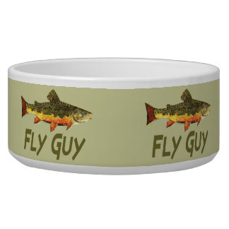 Fly Fisherman Bowl