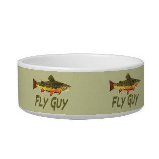 Fly Fisherman Bowl