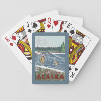 Fly Fisherman - Denali National Park, Alaska Playing Cards