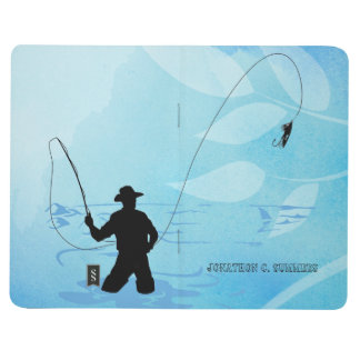 Fly Fisherman Fishing Pocket Journal