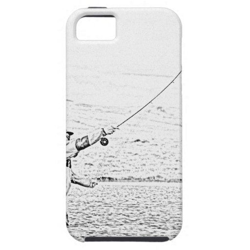fly fisherman iPhone 5 cases