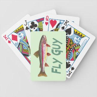 Fly Fisherman Poker Deck