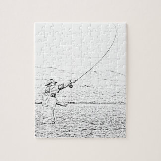 fly fisherman puzzles