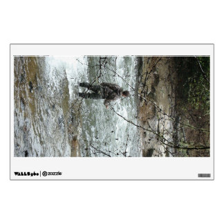 Fly Fisherman River Wall Decal