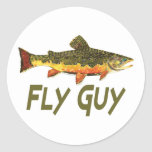 Fly Fisherman Stickers