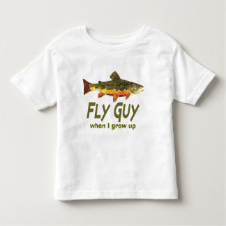 Fly Fisherman Toddler T-shirt