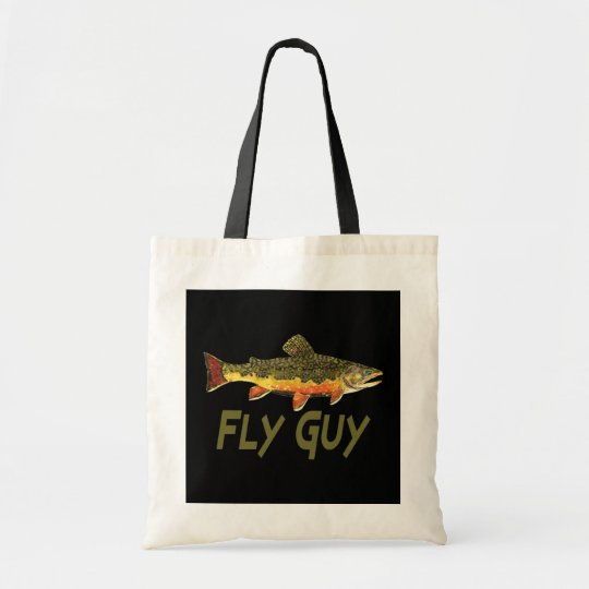 Fly Fisherman Tote Bag